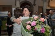 Korintha Bärtsch wurde im 2. Wahlgang nicht gewählt. (Bild: Freie Fotografin/Eveline Beerkircher)