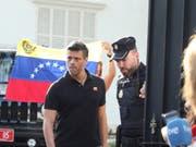 Flüchtete in die spanische Botschaft in Caracas: der venezolanische Oppositionsführer Leopoldo López. (Bild: KEYSTONE/AP/MARTIN MEJIA)