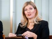Für Beatrice Fihn, Direktorin der Organisation Ican, hat der US-Rückzug aus dem INF-Vertrag den Startschuss für einen neuen Kalten Krieg gegeben. Ican war 2017 mit dem Friedensnobelpreis ausgezeichnet worden. (Bild: KEYSTONE/AP NTB scanpix/BRAASTAD, AUDUN)