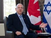 Israels Staatspräsident Reuven Rivlin hat anlässlich des Holocaust-Gedenktags vor neuem Antisemitismus gewarnt. (Bild: KEYSTONE/AP The Canadian Press/JUSTIN TANG)