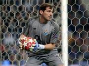 Iker Casillas erholt sich in einem Spital in Porto (Bild: KEYSTONE/AP/LUIS VIEIRA)