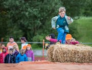 Junge Teilnehmer von schweiz.bewegt. (Bild: Reto Martin, Mai 2017)
