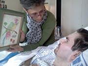Seit einem Unfall vor elf Jahren laut einem Gutachten nicht mehr bei Bewusstsein: der französische Koma-Patient Vincent Lambert. (Bild: KEYSTONE/EPA/PHOTOPQR/L'UNION DE REIMS)