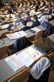 Im Herbst 2018 waren 8669 Studierende an der HSG eingeschrieben. (Bild: Gaetan Bally/KEY)