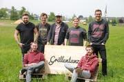 Das Organisationsteam des Grillentanz Festivals. (Bild: PD)