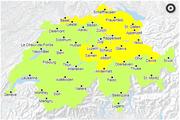 Karte: Bundesamtes für Umwelt BAFU