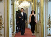 Jungkanzler Sebastian Kurz wird zunehmend in den Strudel um die Ibiza-Affäre hineingezogen. (Bild: Georg Hochmuth/APA; Wien, 21. Mai 2019)