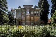 Die «Bodum-Villa» an der Obergrundstrasse 99 in Luzern. Bild: Pius Amrein (4. Juli 2017)