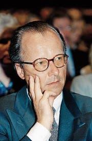 Stephan Schmidheiny auf einer Aufnahme von 1996. (Bild: Keystone)