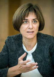 Monika Knill, Thurgauer Erziehungsdirektorin. (Bild: Reto Martin)