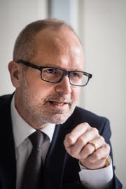 Stefan Kölliker, St.Galler Bildungschef. (Bild: Benjamin Manser)