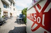 Die Geschäftsstelle der Consol in Zug, wo auch das Bistro, einer der sechs Consol-Betriebe, angesiedelt ist. (Bild: Stefan Kaiser (Zug, 16. Mai 2019))