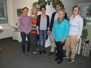 Verein Ferien für Nidwaldner Frauen (von links): Caroline Frank (Revisorin), Karin Gerber (Koordinatorin), Mirjam Würsch (Fachstelle KAN), Othmar Egli (Revisor), Heidi Zimmermann (Präsidentin) und Irene Amstutz-Odermatt (Kassierin). (Bild:PD)