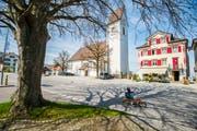 Die Kirche in Wolfhalden: Gleich mehrere Parteien wollen in den Vorderländer Gemeinden zulegen. (Bild: Urs Bucher)