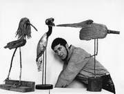1962: Der junge Tomi Ungerer und seine schrägen Vögel. (Bild: Getty/Ullstein)