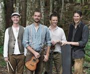 Auch die «John Doe Band» aus Illgau tritt am 5. Juli im Schwingerdörfli in Flüelen auf. (Bild: PD)