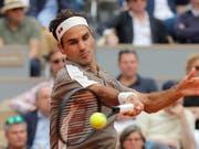 Roger Federer gelang ein guter Einstieg ins diesjährige French Open (Bild: KEYSTONE/AP/MICHEL EULER)