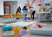 Für den modernen Unterricht benötigt die Gemeinde Oberägeri mehr Schulraum. (Symbolbild: Gina Böhme)