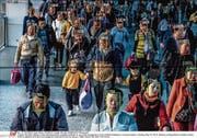 In Peking Alltag: Vollständige Gesichtserkennung im öffentlichen Leben. (Bild: Gilles Sabrie/The New York Times/Redux/laif)
