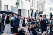 Strassenszene in Kopenhagen. (Bild: Getty)