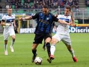 Remo Freuler, hier in einem Spiel gegen Inter, erreichte mit Atalanta Bergamo Historisches (Bild: KEYSTONE/EPA ANSA/MATTEO BAZZI)