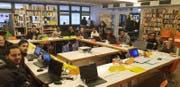 Im Unterricht: Hier werden grundlegende Computerkenntnisse gelehrt. (Bild: Bianca Hunke)