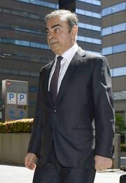 Carlos Ghosn. (Bild: Ren Onuma / AP)