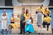 Szene aus dem Musical Hairspray im Gossauer Fürstenlandsaal. (Bild: Urs Bucher - 14. April 2019)