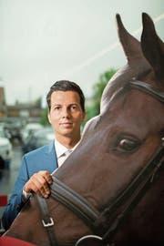 Der Goldacher Thomas Zweifel stammt nicht aus einer «Rösseler»-Familie, fühlte sich aber schon als Bub zu Pferden hingezogen. (Bild: Benjamin Manser)
