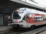 Stadler wird nach Norwegen gelieferte Flirt-Züge selber warten. (Bild: KEYSTONE/GAETAN BALLY)