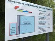 Die technischen Daten zum neun Reservoir Stählibuck. (Bild: Samuel Koch)