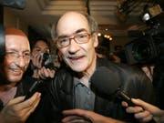 Der belgische Schriftsteller und Drehbuchautor François Weyergans ist am Montag in Paris gestorben. Weyergans wurde 2009 Mitglied der prestigeträchtigen Académie francaise, die als Hüterin der französischen Sprache gilt. (Bild: KEYSTONE/AP/MICHEL EULER)