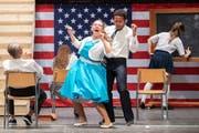 Der Theaterverein Fürstenland hat mit dem Musical Hairspray einen Grosserfolg gefeiert. (Bild: Urs Bucher - 14. April 2019)