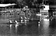 Bei den WM-Rennen durften 1962 noch keine Frauen mitmachen. (Bild: Archiv Regattaverein Luzern)