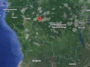 Das Unglück ereignete sich auf dem See Mai-Ndombe im Westen der Demokratischen Republik Kongo. (Bild: Google Maps)
