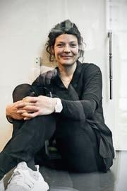 In freudiger Erwartung auf die kommenden Literaturtage: Reina Gehrig. (Bild: Roland Schmid)