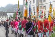 Der Kanton regelt die Stipendien neu. Unser Bild zeigt das Zentralfest des Schweizerischen Studentenvereins in Engelberg. (Bild: Dani Lüthi, 2. September 2018)