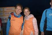 Gewinnen die Gesamtwertung: Klaas Puls (Zofingen) und Sarah Friedli (Roggliswil). (Bild: PD)