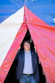 Zirkuspfarrer Adrian Bolzern. (Bild: PD/CH Media, Alex Spichale)