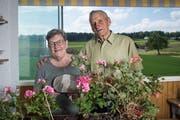 Franz und Marta Zemp gewinnen den Eschenbacher Award 2019. (Bild: Boris Bürgisser, Eschenbach, 22. Mai 2019)
