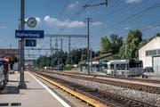 Der Bahnhof Rothenburg Station soll umgebaut und behindertengerecht werden. (Bild: Pius Amrein, 20. August 2018)