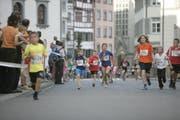 Kinder am 24. St.Galler «Altstadtlauf» im Jahr 2007. (Bild: Sam Thomas - 22. September 2007)