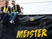 Die Swiss Football League will, dass nationale Erfolge wie der Meistertitel auch künftig prioritär für die Qualifikation und Einteilung in die Europacup-Wettbewerbe bleiben (Bild: KEYSTONE/PETER SCHNEIDER)