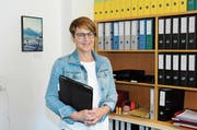 Bühlers scheidende Gemeindepräsidentin Inge Schmid blickt zufrieden auf ihre Arbeit der vergangenen 15 Jahre zurück. (Bild: Astrid Zysset)