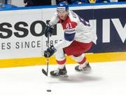 Dominik Kubalik stürmt nächste Saison in der NHL für die Chicago Blackhawks (Bild: KEYSTONE/MELANIE DUCHENE)