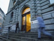 Gefängnis für zwei Kunstbetrüger: Amtshauseingang in Bern. (Bild: KEYSTONE/YOSHIKO KUSANO)