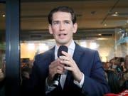 Die ÖVP ist optimistisch, dass Parteichef Kurz grosse Chancen auf eine Rückkehr ins Kanzleramt hat. (Bild: KEYSTONE/AP/RONALD ZAK)