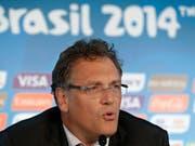 Ex-Fifa-Generalsekretär Jérôme Valcke ist zehn Jahre lang für alle nationalen und internationalen Aktivitäten im Zusammenhang mit Fussball gesperrt. (Bild: KEYSTONE/AP/HASSAN AMMAR)