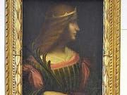 Das Bild «Portrait der Isabella d'Este» wird nicht den italienischen Behörden übergeben. (Bild: Keystone/KANTONSPOLIZEI TESSIN/HANDOUT)