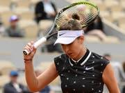 Auf Belinda Bencic wartet am Donnerstag eine nervenaufreibende Schlussphase ihres Zweitrunden-Matches (Bild: KEYSTONE/EPA/CAROLINE BLUMBERG)